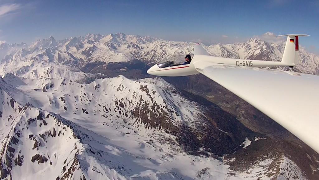 LS4 im Aostatal