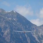 ASK21 im Anflug auf Reutte